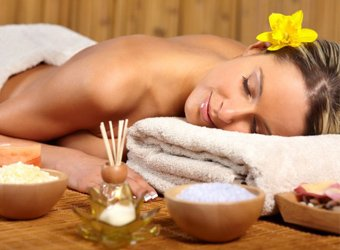 Aroma therapy massage picture